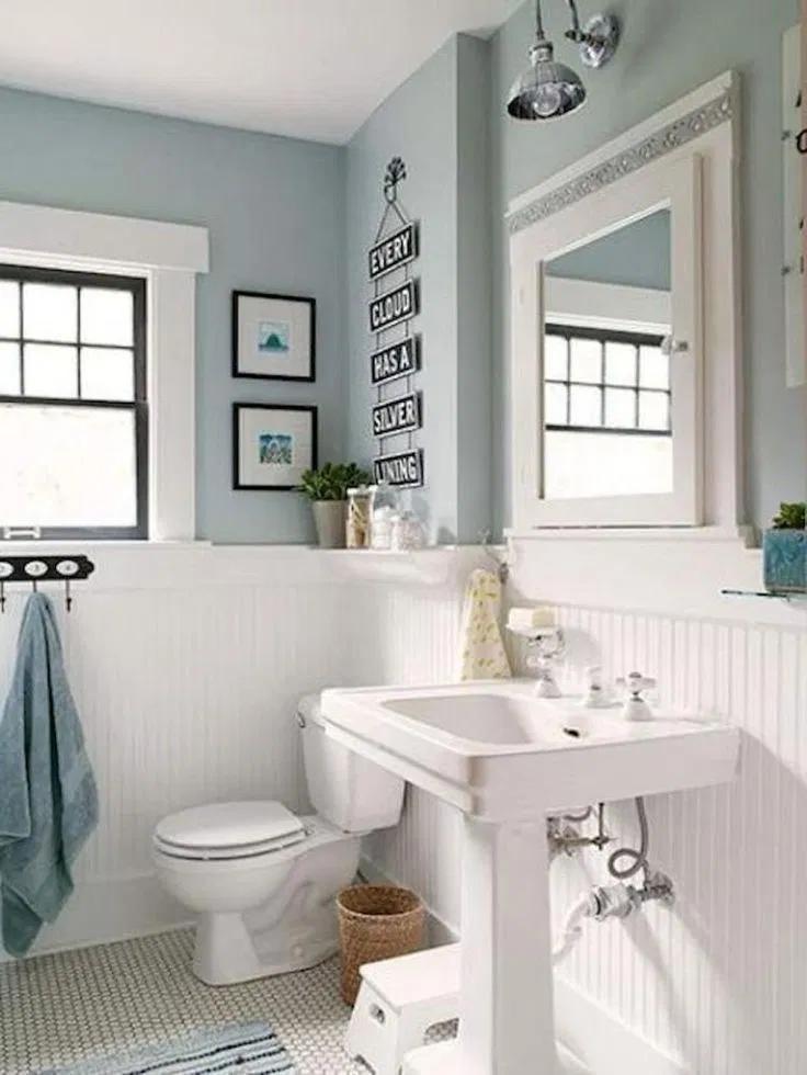 Unusual Small Bathroom Design Ideas 00019 En 2020 Salle De Bain