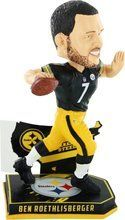 NFL Player Nations Bobble Head Ben Roethlisberger Pittsburgh Steelers