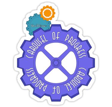 Carousel Of Progress Sticker By Rockinbass85 Disney Sticker Disney Collage Animal Kingdom Disney