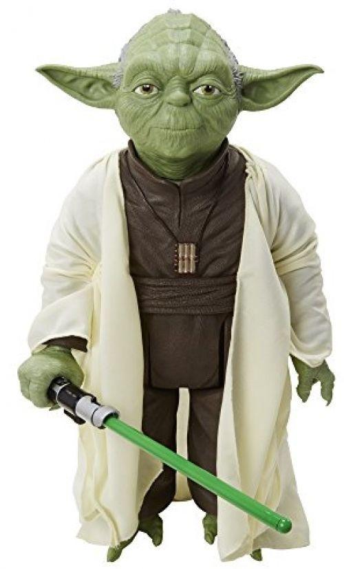 e6091d116070 Star Wars Classic - 18 Inch Large Sized Yoda With Bonus Lighsabor Included # StarWars