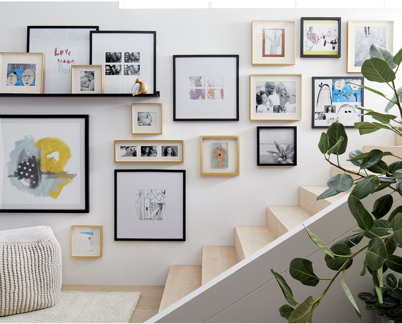 How To Hang Pictures Without Nails Frames On Wall Gallery Wall