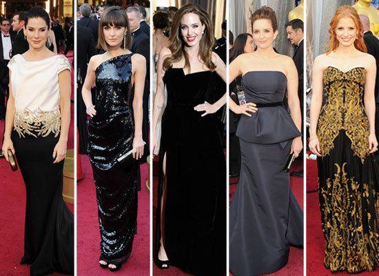 Oscar Red Carpet Dresses
