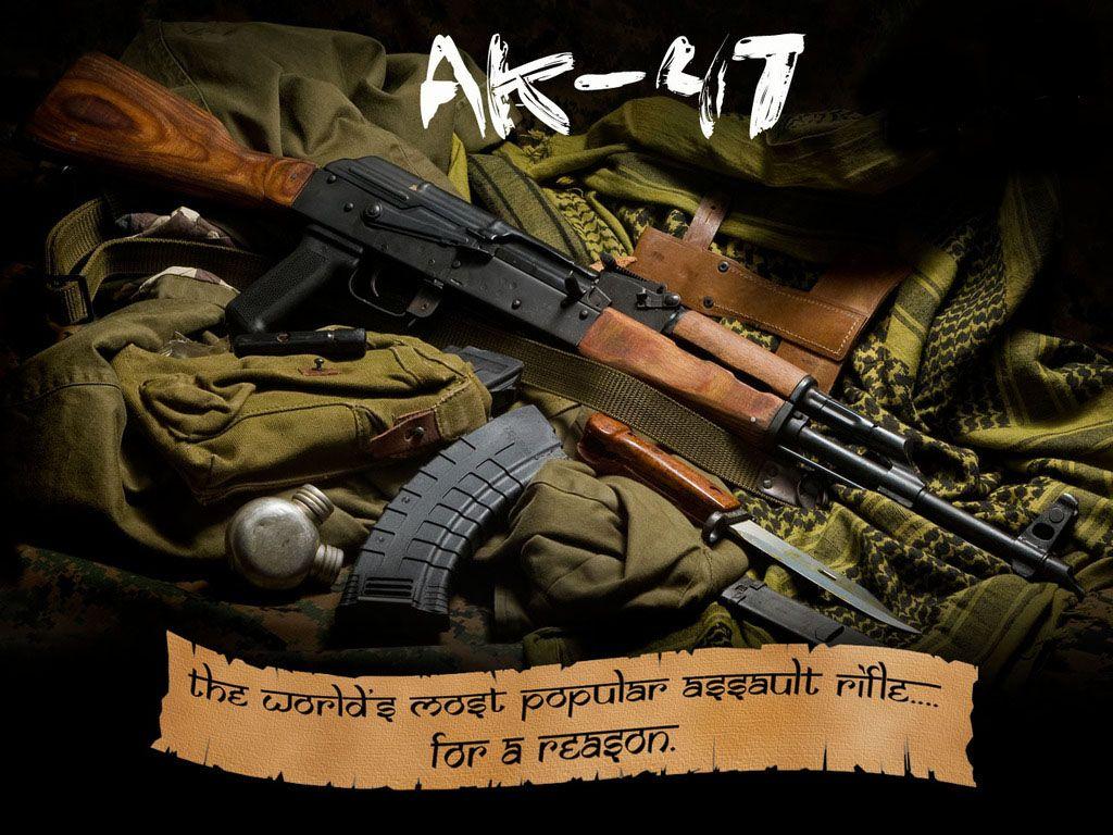 AK 47 HD Wallpaper Download