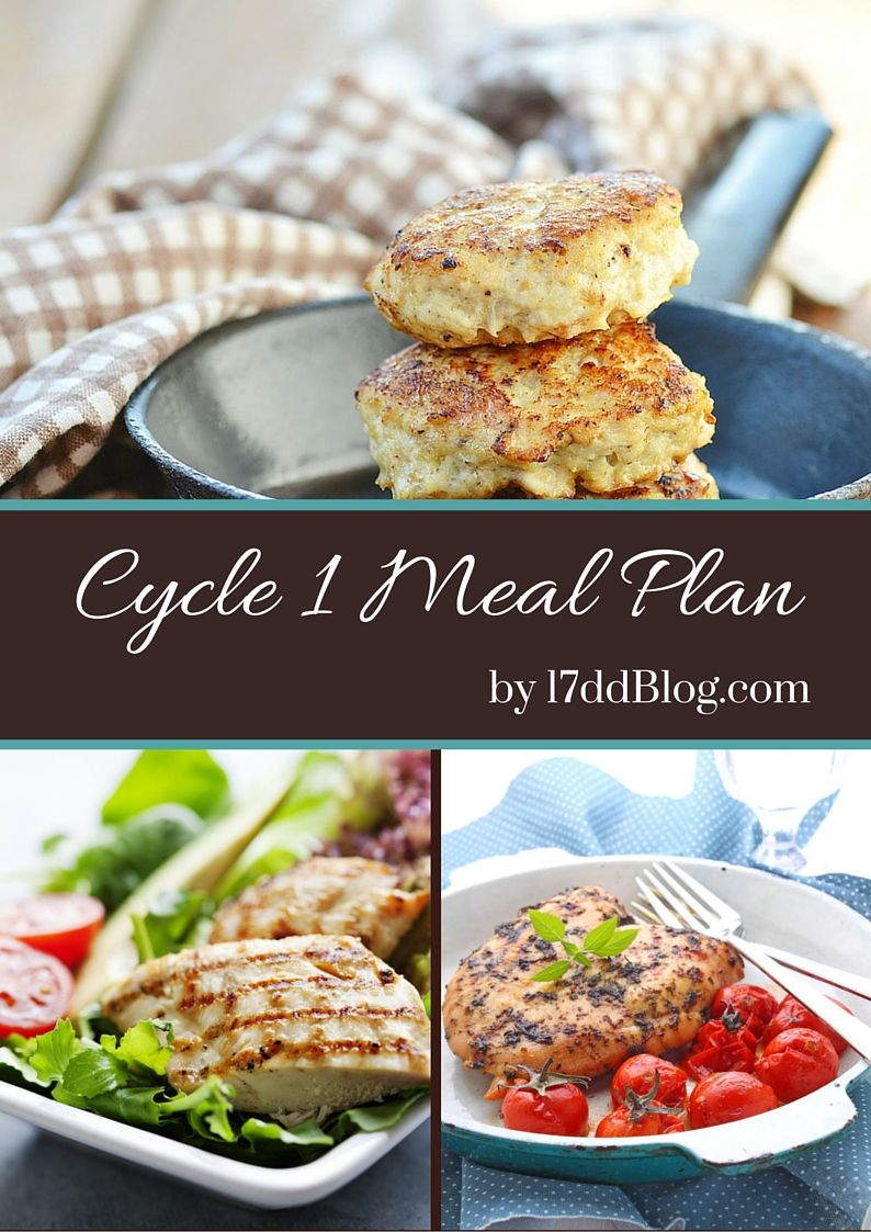 The 17 day diet blog cycle 1 food list contains the for Healthiest fish list