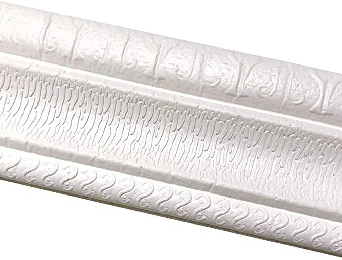 Tinton Life 3d Waterproof Wallpaper Border Peel And Stick Wall Border Foam Mirror Borders Removable Self Adhesive T Wall Borders Wallpaper Border Mirror Border