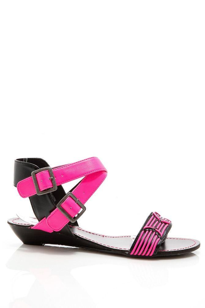 Neon Two Tone Stitched Flat Sandal @ Cicihot Sandals Shoes online store sale:Sandals,Thong Sandals,Women's Sandals,Dress Sandals,Summer Shoes,Spring Shoes,Wooden Sandal,Ladies Sandals,Girls Sandals,Evening Dress Shoes