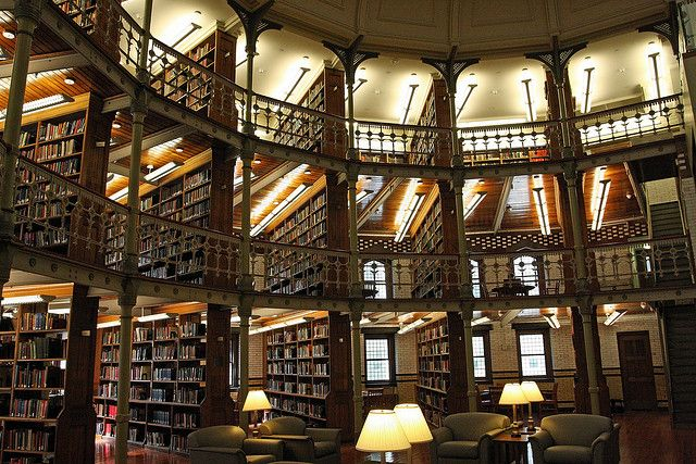 Lehigh University Library Reminds Me Of The Library In Beauty