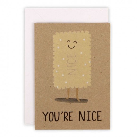 You're nice biscuit Paperchase