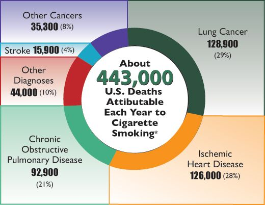 Image result for smoking deaths