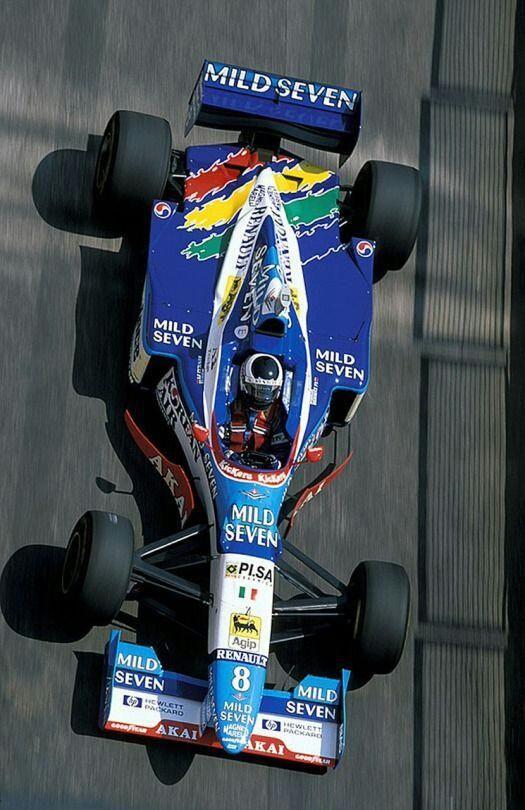 Gerhard Berger - Benetton - Imola, San Marino Grand Prix