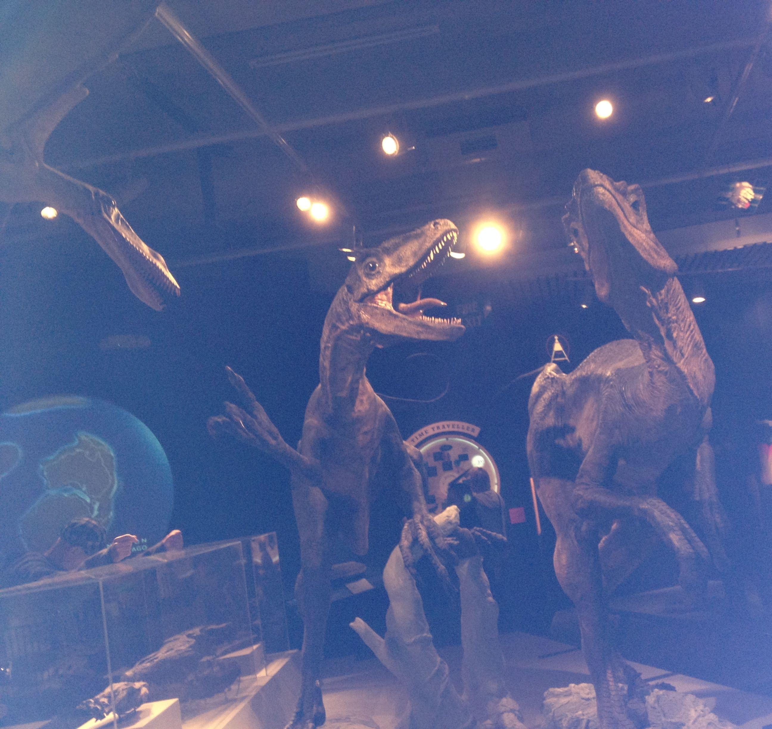 Dinosaurs at Te Papa!