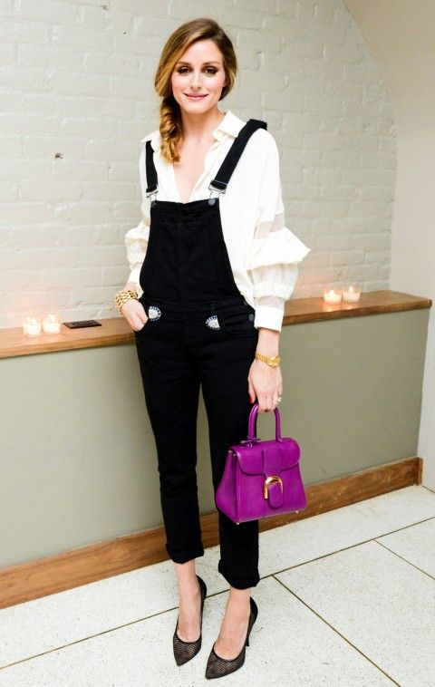 Olivia Palermo In Colour Popping Carolina Herrera - Olivia Palermo Pictures | InStyle UK
