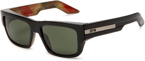 5916eb9070 Spy Optic Men s Tice Rectangle Sunglasses