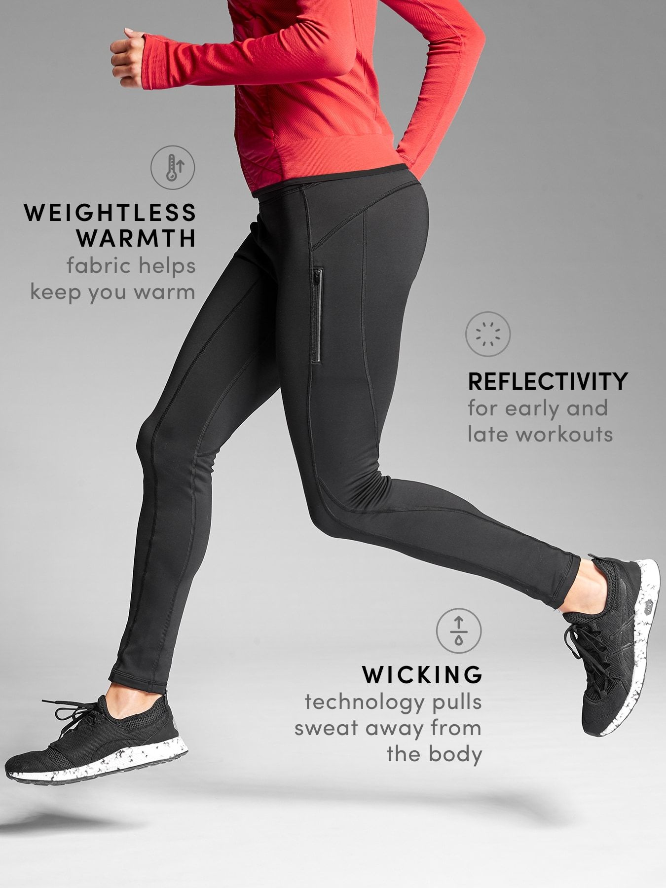 Tights for snowshoeing and winter hiking Latest workout