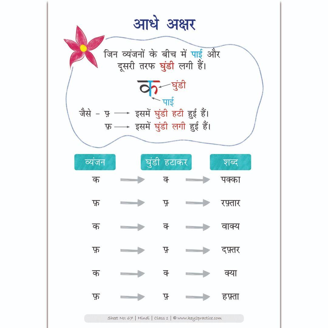 medium resolution of हिंदी मात्राएं ' Hindi Worksheets Grade 1 \u0026 2 - key2practice Workbooks    1st grade worksheets