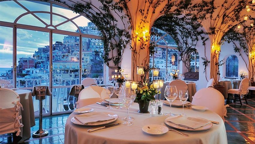 Fine Dining Where The View Is The Main Course Iconic Life Positano Luxury Travel Nice View