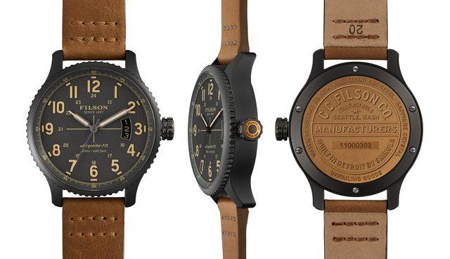 THE MACKINAW FIELD WATCH 43mm by @shinola and @Filson. http://www.shinola.com/shop/watches/filson-watches/the-mackinaw-field-watch-43mm-303.html