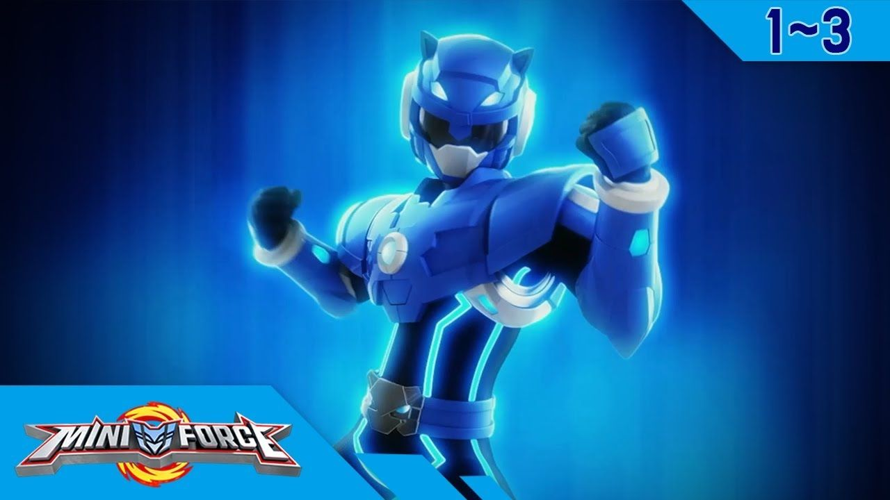 Miniforce Season 1 Ep 1~3 - YouTube | Miniforce Rangers in