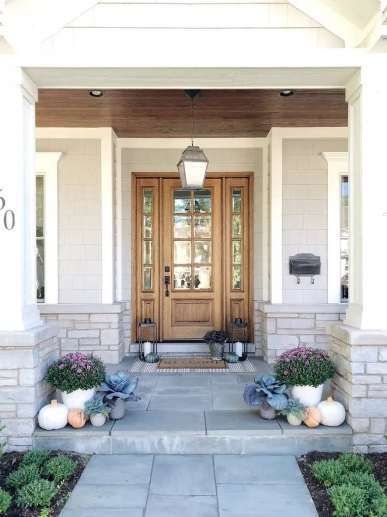 Traditional Exterior Front Porch Design Pictures Remodel Decor And Ideas Soooo Pretty: 39 Pretty Farmhouse Front Porch Ideas For The Perfect At Home Escape 34 In 2020