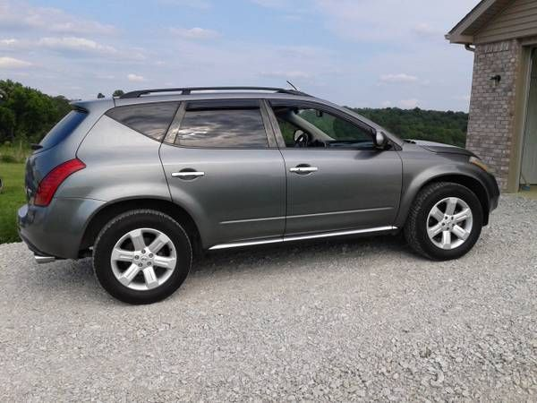 Make: Nissan Model: Murano Year: 2006 Exterior Color: Gray Interior Color: