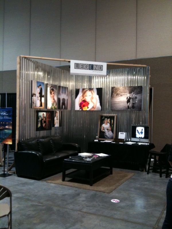 Just An Easy Embly Idea Wedding Expo Booth Trade Show