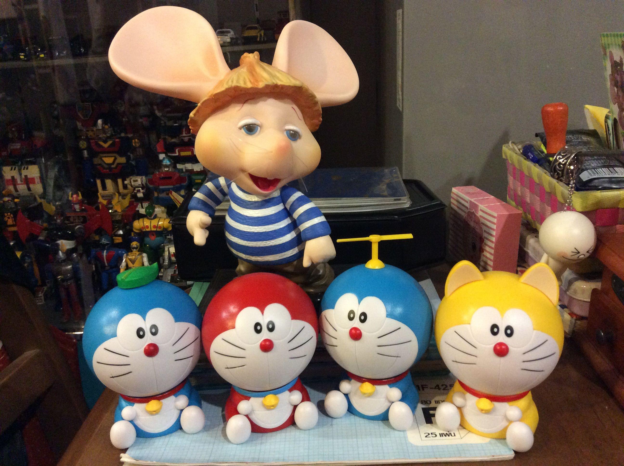 ปักพินโดย Lek Rassa ใน Doraemon