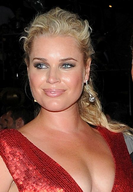 Rebecca Romijn Curly Hairstyles Hairstylegalleries Com
