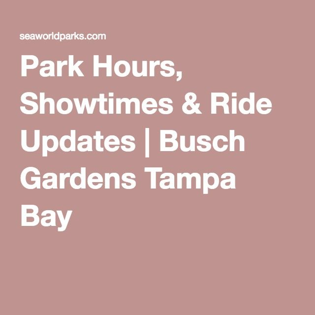 Distance From Tampa Airport To Busch Gardens