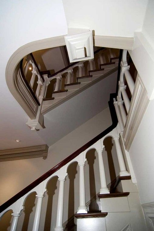 Best Refurbished Staircase In A 3 Story Historic Home In The 400 x 300