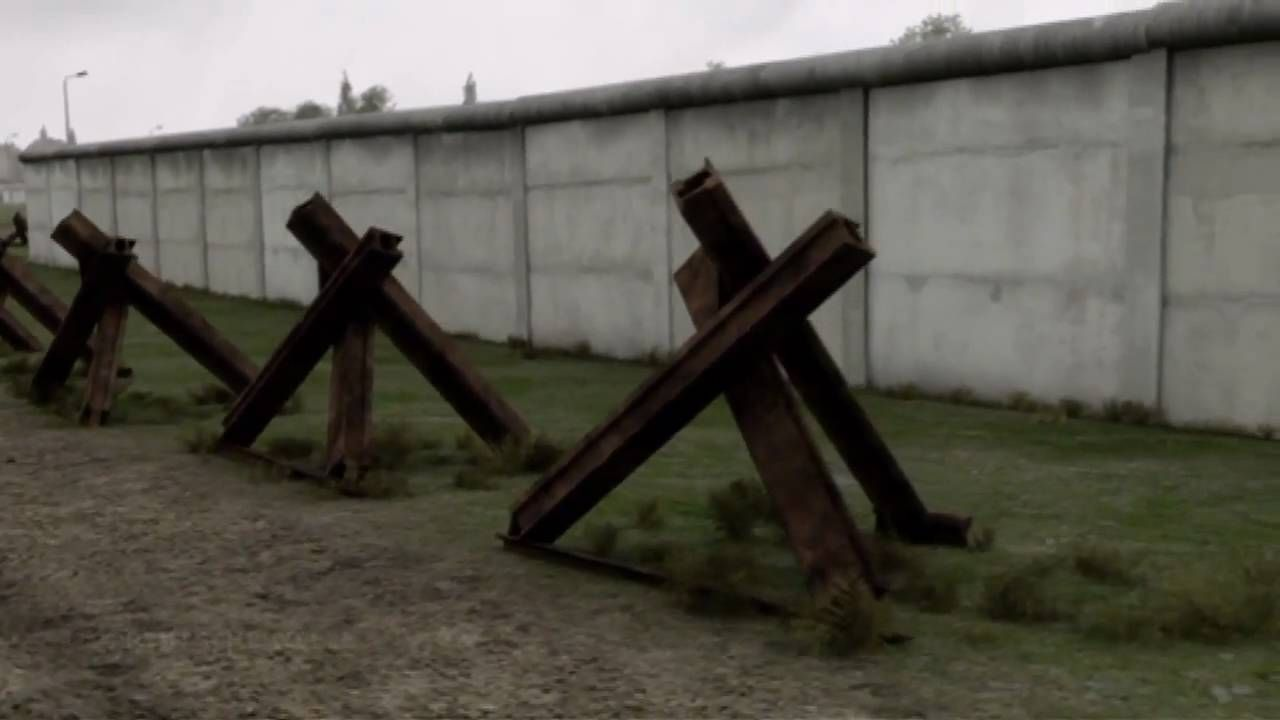 """Video about the Berlin Wall """"Walled In!"""" Germany's inner"""