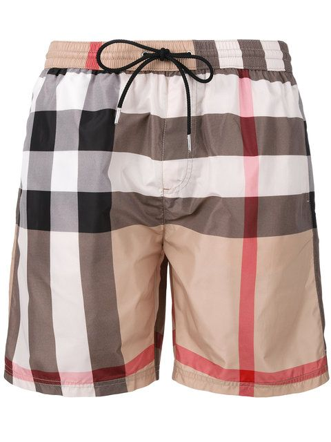 2950f67099 BURBERRY Housecheck Print Swim Shorts. #burberry #cloth #shorts ...