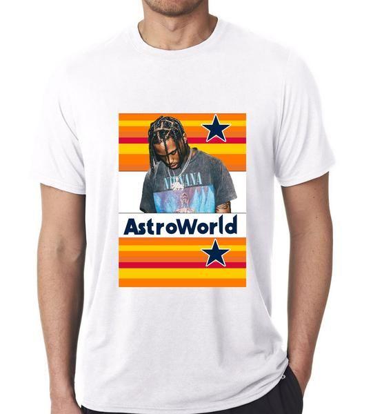 8ab38ab47115 Travis Scott Astroworld T-Shirt | Hip Hop T-shirts | Travis scott ...