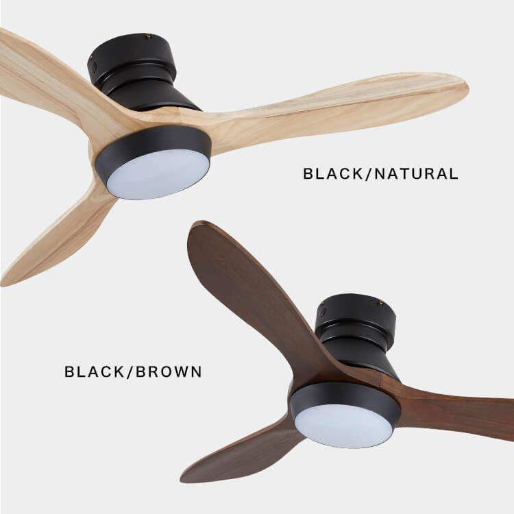 シーリングファン 3枚羽 調光 調色可能 Led対応 1灯 公式 Lowya