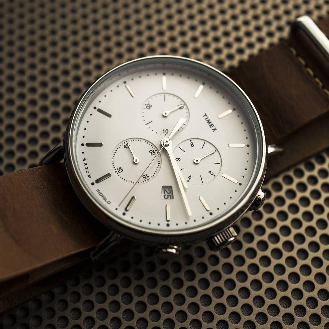 9b974898a Timex Fairfield Chrono #timex #timexwatch #taketime #usa #chronograph  #photography #summer #fashion #dressy #watch #watches #montre…