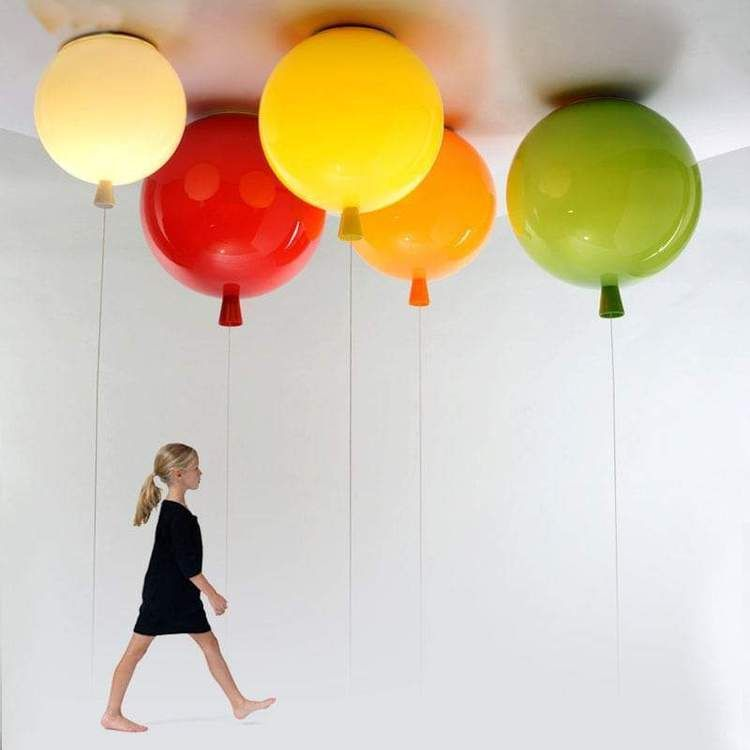 Globo Balloon Ceiling Light In 2020 Balloon Ceiling Balloon Lights Ceiling Lights