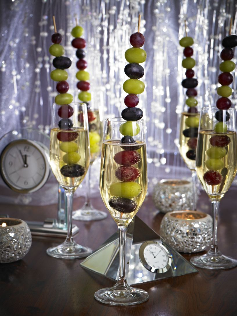 Ring in the New Year with Grapes from California! A