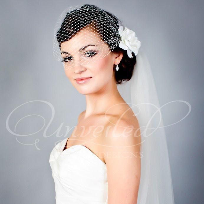 Vintage Inspired Veils For The Modern Bride
