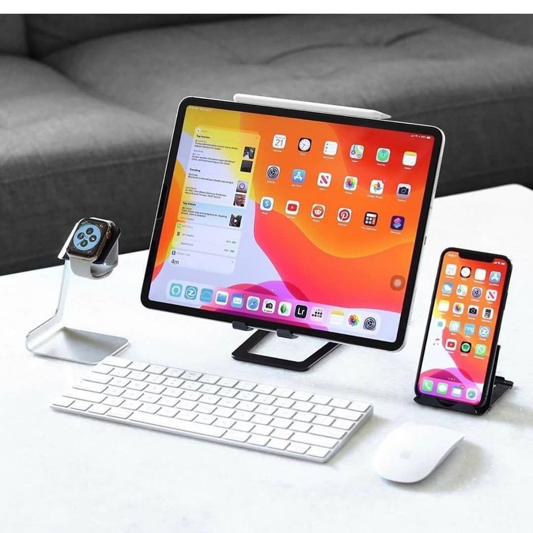 Pin on iPad Desk Setup