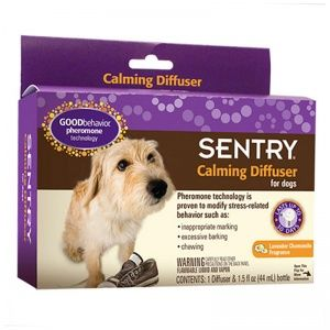 Sentry Calming Diffuser- Lavander Chamomile scent. This ... Relaxing Dog Scents