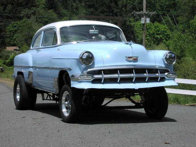 54 Chevy Gasser Gassers Chevy Drag Cars Old Race Cars Cars