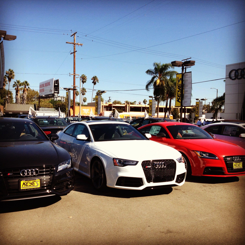 All-Star Lineup. 2014 Audi S7, RS5, TTS. Big Three. www.KeyesAudi.com