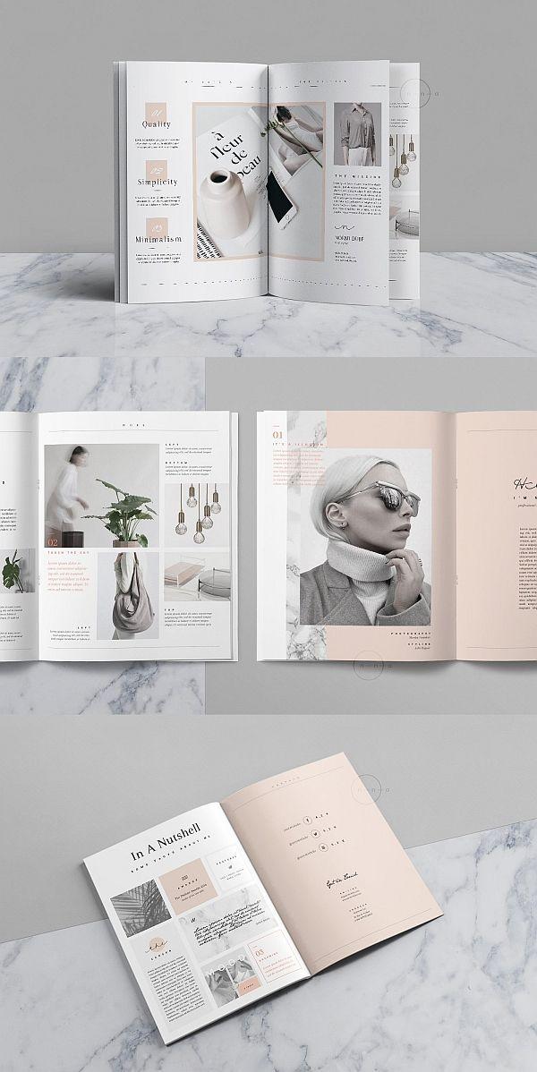 Editorial Portfolio PSD • Noémi