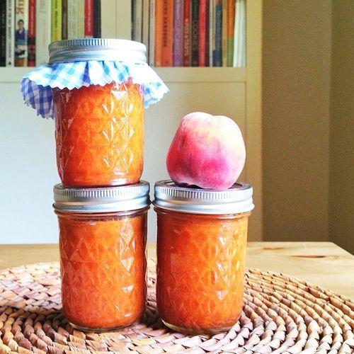 Peach Barbecue Sauce