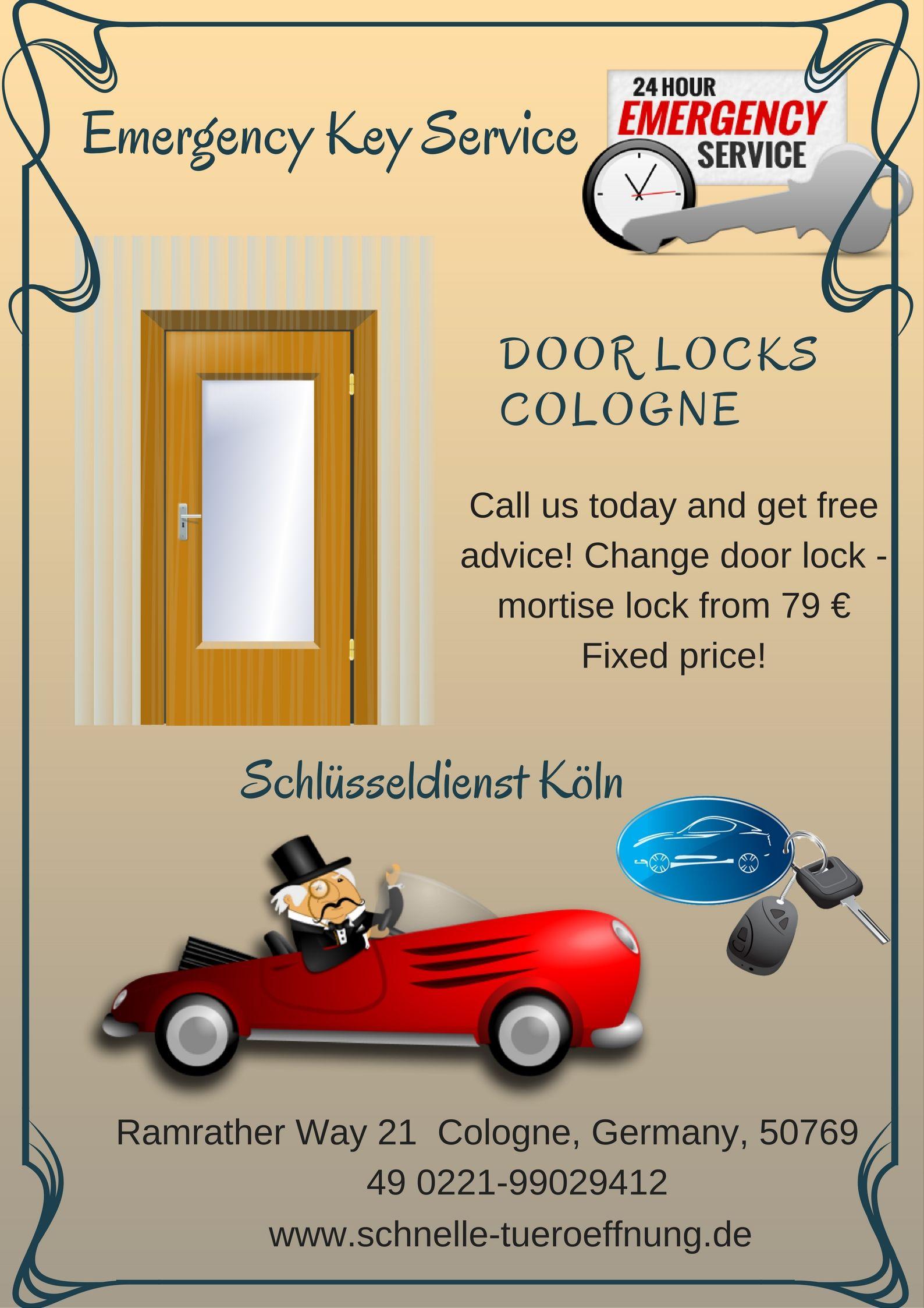 Auch Für Das Öffnen Und Reparieren Von Schlössern In Briefkasten,  Kellertür, Zimmertür, Badezimmertür