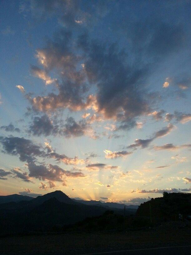 No filters or inhancement, arizona sunrise