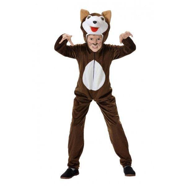 Como hacer un disfraz de lobo feroz para ni os imagui for Disfraz de lobo feroz