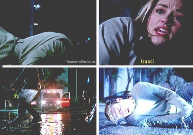 Crystal Reed (Allison Argent) & Daniel Sharman (Isaac Lahey) - Teen Wolf