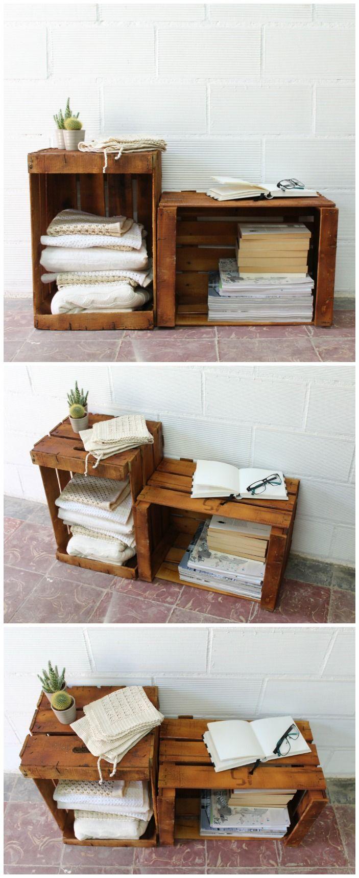 Cajas de fruta caja de madera cajas de madera wood box - Cajas madera frutas ...