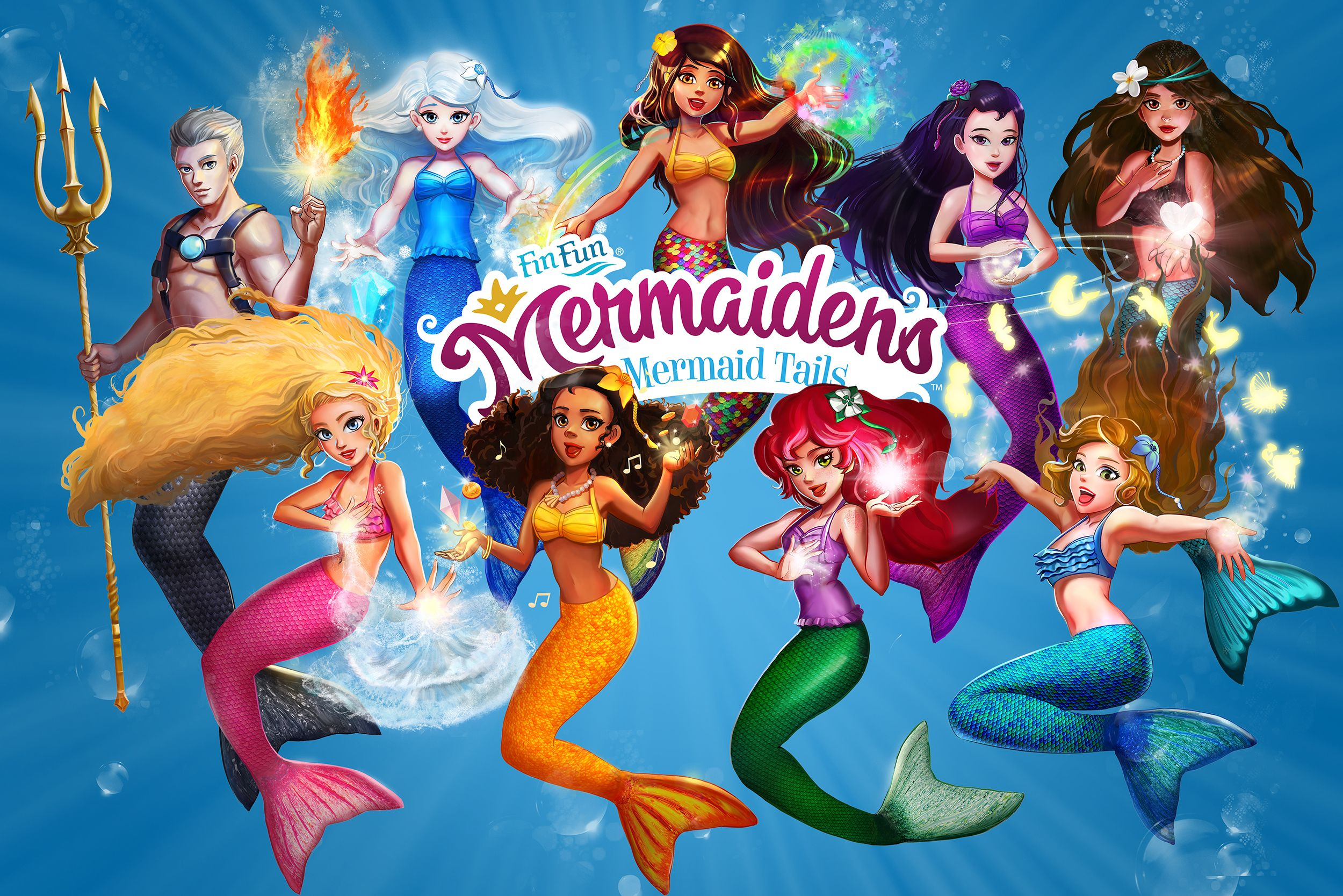 FinFriends.com - Games, mermaid stories, coloring pages ...
