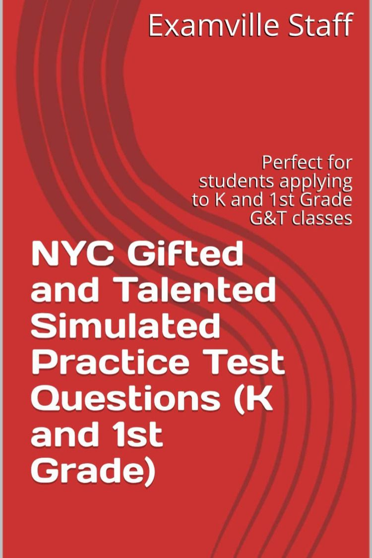 Nyc gifted and talented simulated practice test questions